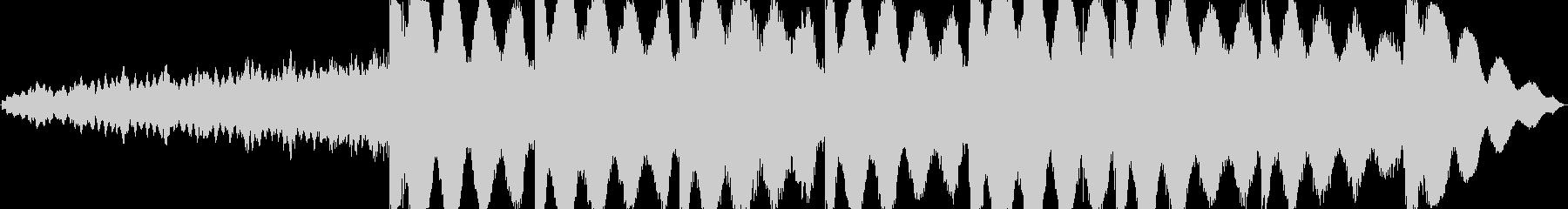 ヨガとマッサージの未再生の波形