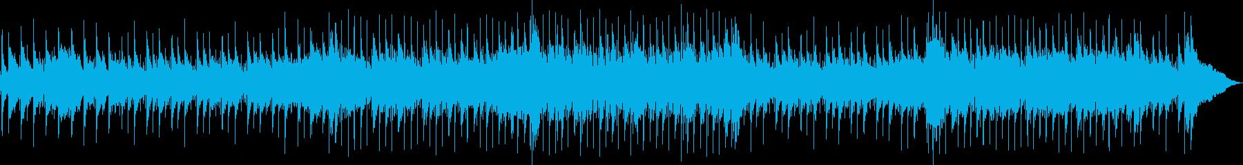 スロー。ピアノバー。ハーモニカの再生済みの波形