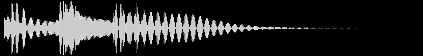 キャンセル_タップ_クリック_20802の未再生の波形