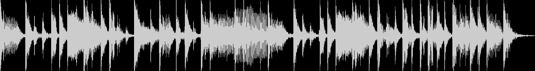 クールなベーススラップのジングル1の未再生の波形
