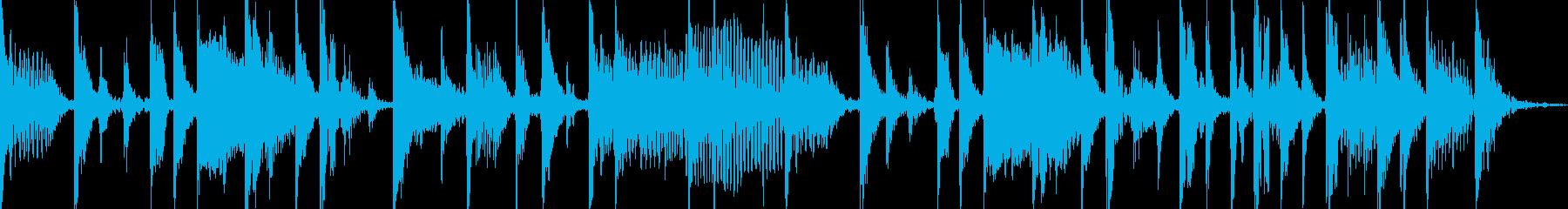クールなベーススラップのジングル1の再生済みの波形