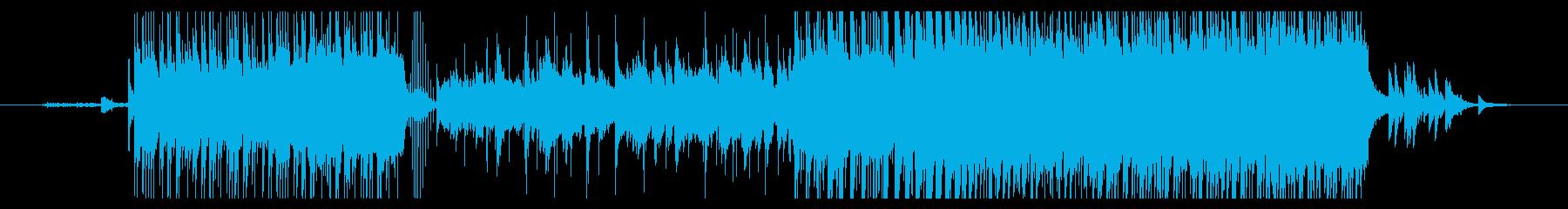 中華で厳粛な曲の再生済みの波形