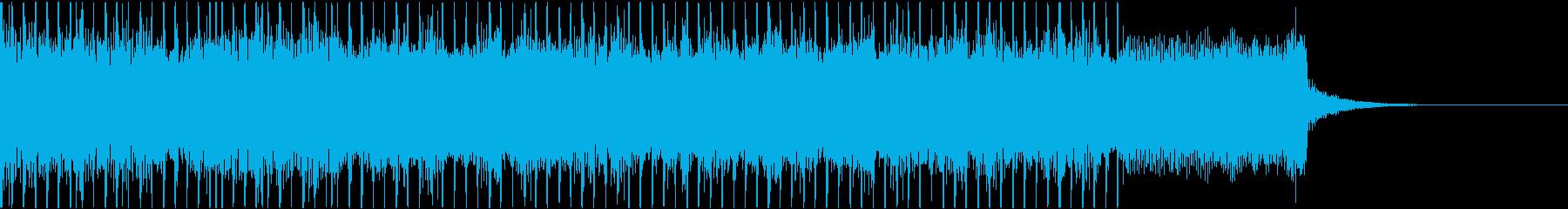 重量感と緊迫感のあるメタルリフジングルの再生済みの波形