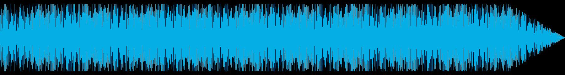 企業Vなどのバックに合うテクノ風曲の再生済みの波形