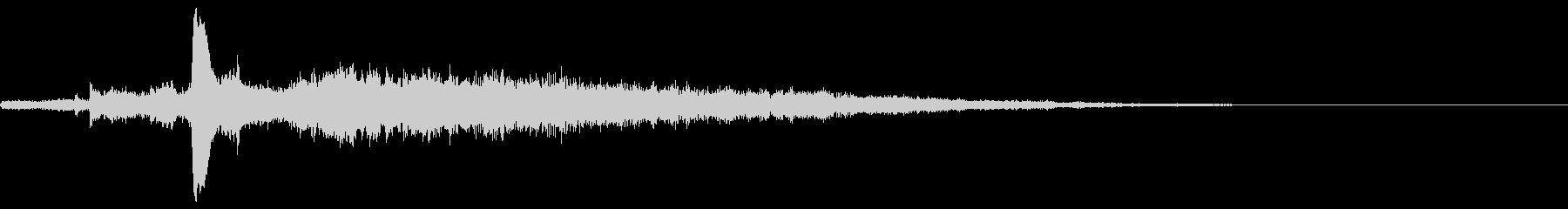 クリック音144神秘的 シリアスの未再生の波形