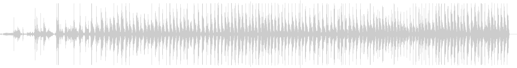 ベッドウッドクリークバウンスヘビーの未再生の波形