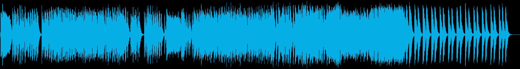 サラサラ ジャズ ドラマチック ビ...の再生済みの波形