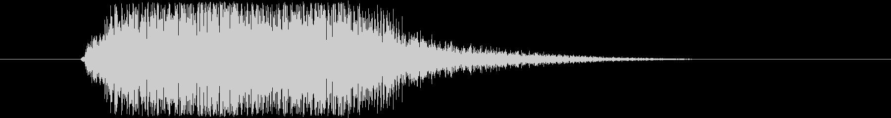 近未来SFボタン音ビープ音クリック音24の未再生の波形