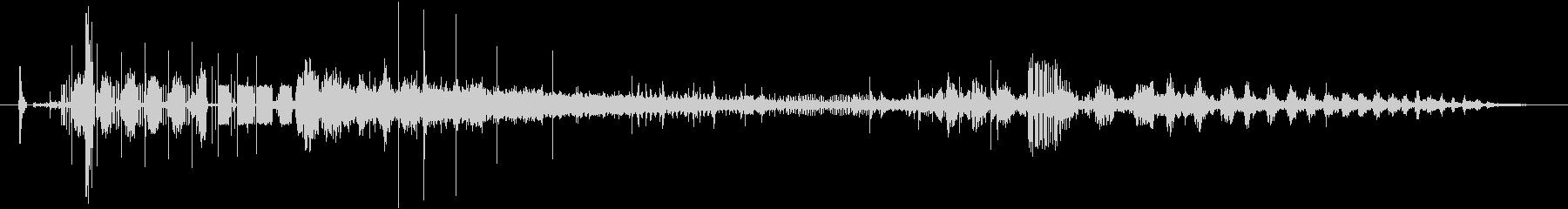 CINEMATIC BEEP 09の未再生の波形