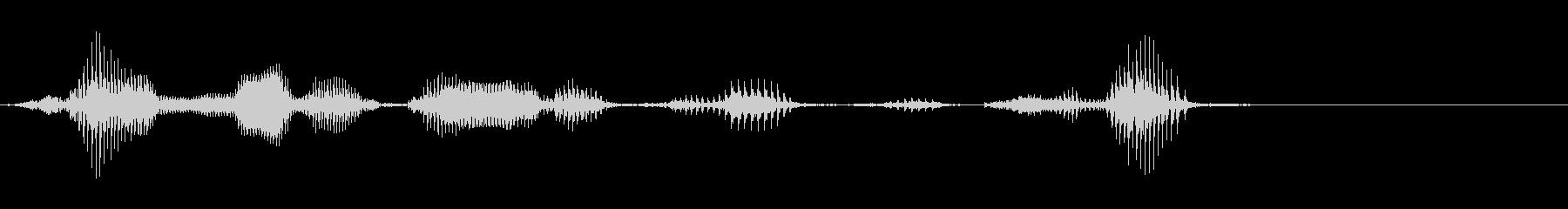 チャンネル登録はこちらの未再生の波形
