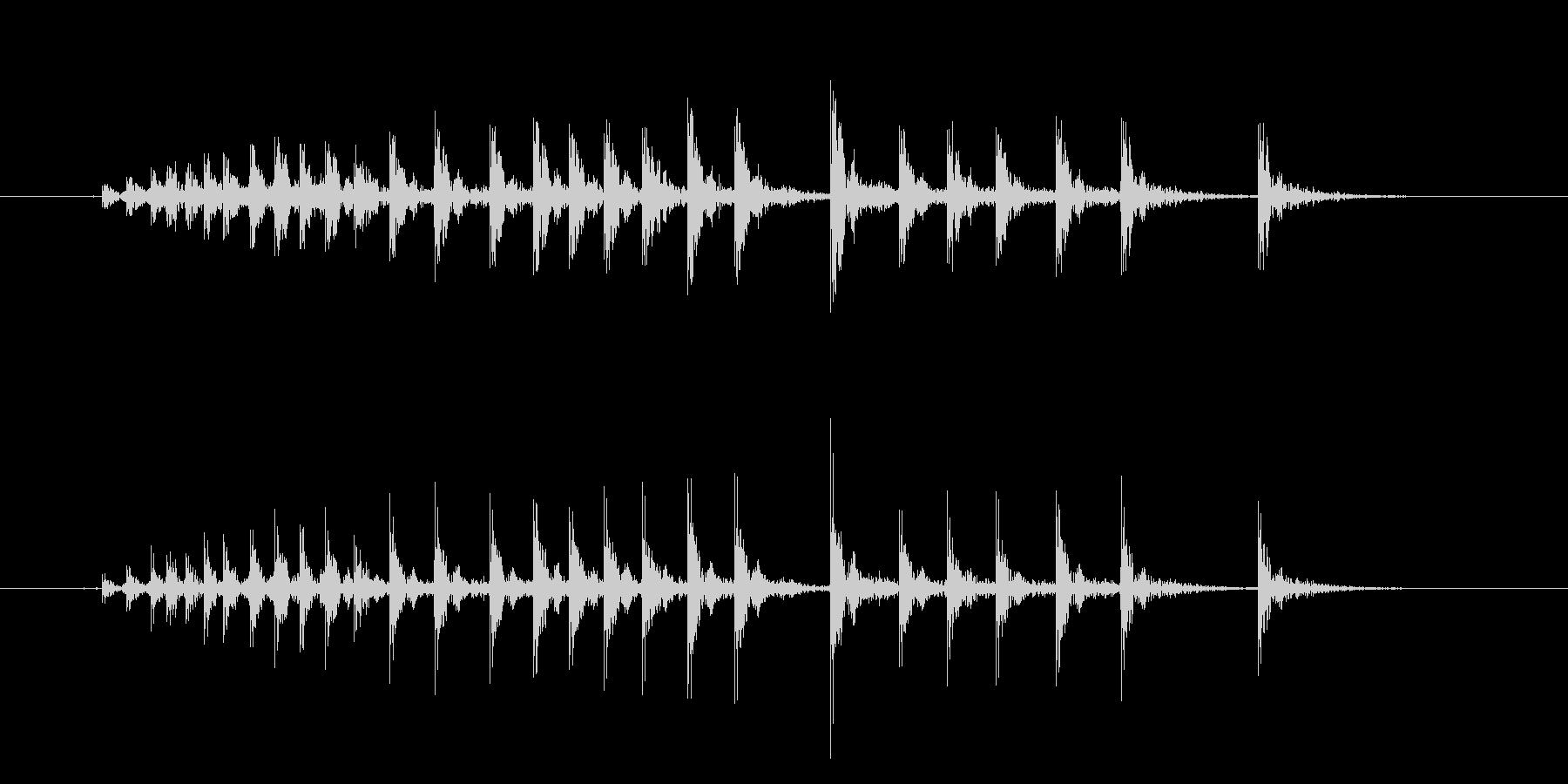 漫画のきしみ-きしむ木の未再生の波形