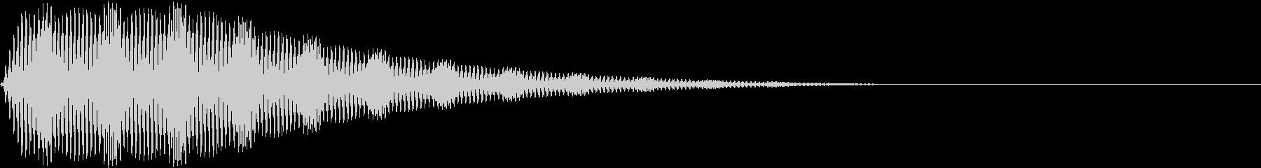 Game ブルブルブルというSE 1の未再生の波形