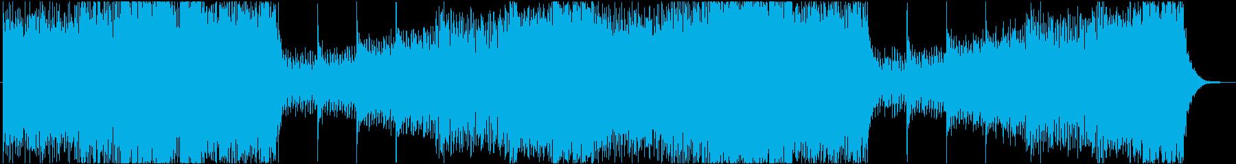 アゲアゲなトランスです。の再生済みの波形