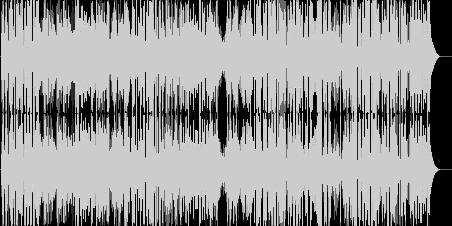 ギター&ハープの爽やかアコースティックの未再生の波形