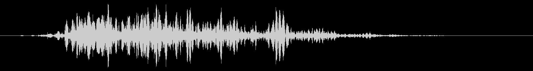 スライムなどが蠢く音タイプB#2の未再生の波形