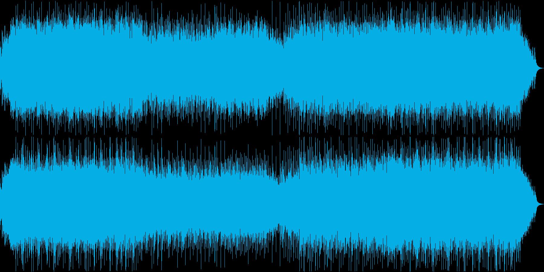 重厚で不気味和な和風モダンロックの再生済みの波形