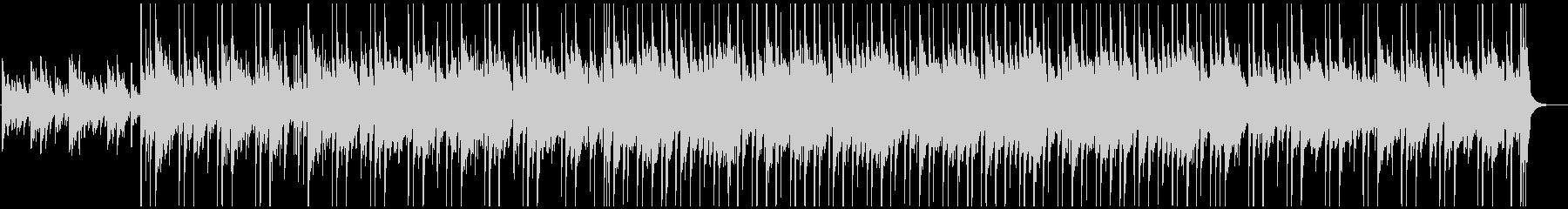 ピアノとアコギがメインのほんわかBGMの未再生の波形