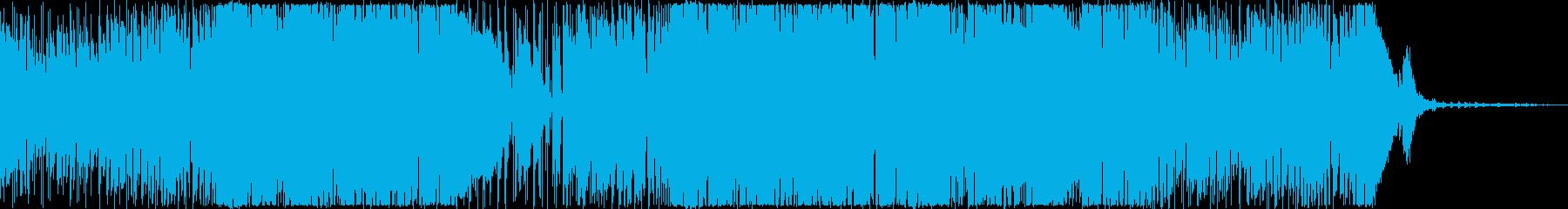 オープニング・楽しい・軽快・ファンクの再生済みの波形