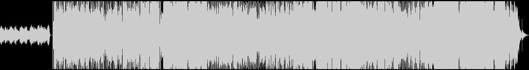 幻想的なシンセが目立つBGMの未再生の波形
