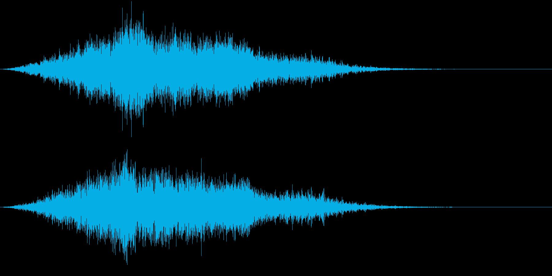 【ライザー】場面転換_07 ホラーの再生済みの波形