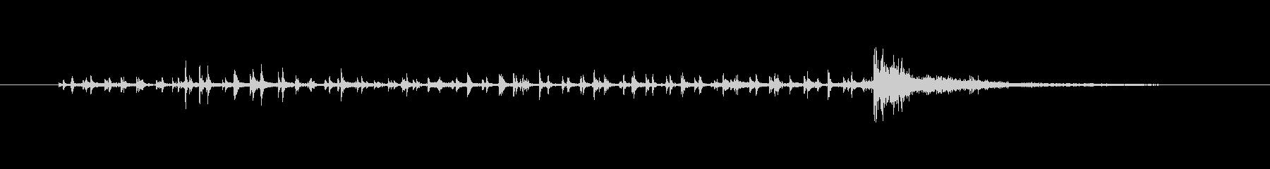 ボンヒットの未再生の波形