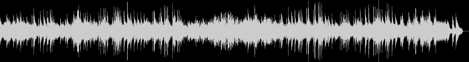 ベートーヴェン 月光 第一楽章 ピアノの未再生の波形