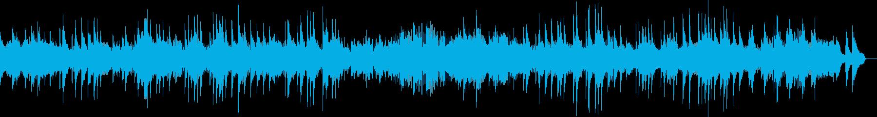 ベートーヴェン 月光 第一楽章 ピアノの再生済みの波形