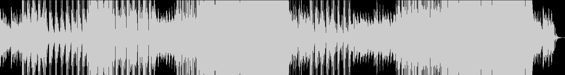 落ち着いたEDMの未再生の波形