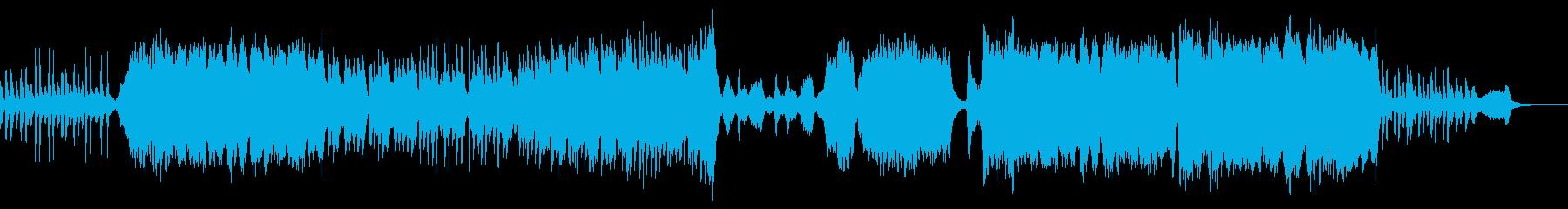 ワクワク感と浮遊感溢れるオーケストラの再生済みの波形
