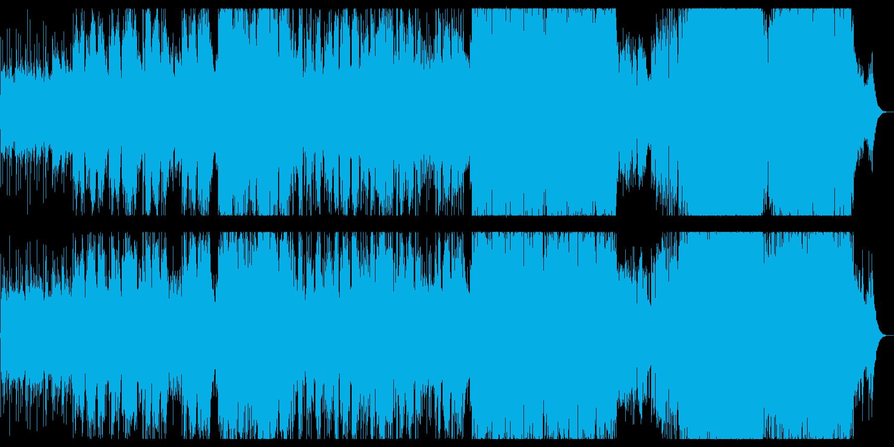 源氏物語を題材とした和風バラードの再生済みの波形