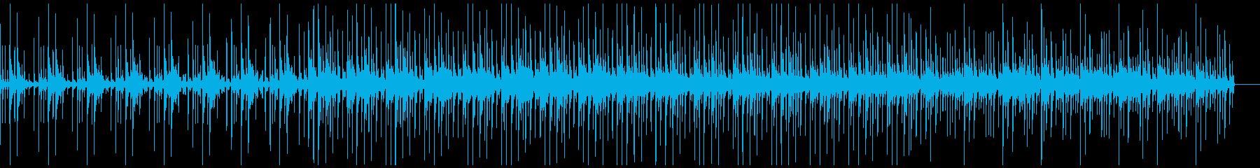 催眠シンセパッドでのゆったりしたパ...の再生済みの波形