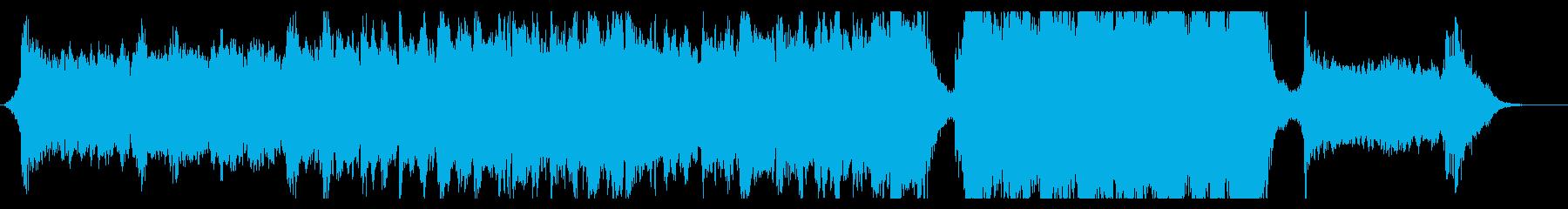 ハリウッド映画風の壮大なオーケストラ7Dの再生済みの波形