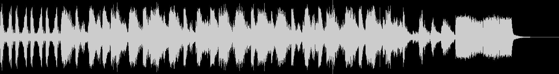 サウンドロゴHIPHOP-DJstyleの未再生の波形
