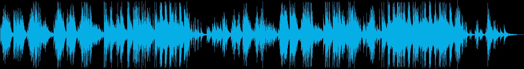 どこか懐かしい胸に響くピアノの再生済みの波形