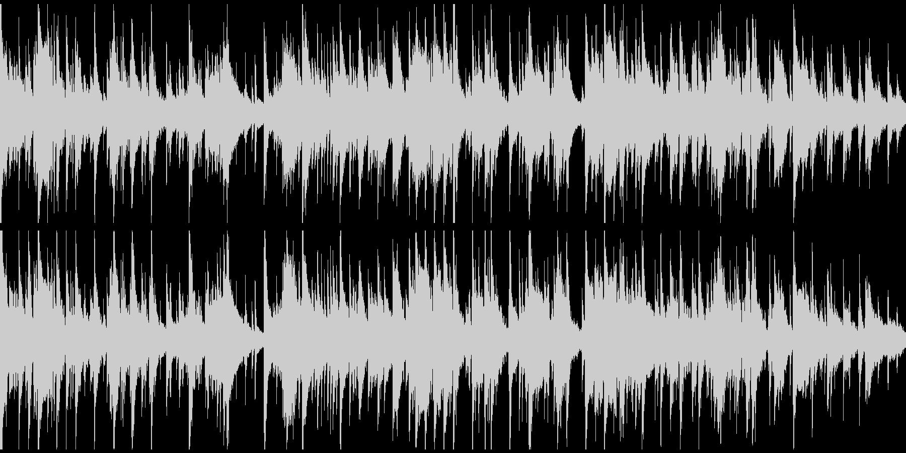 ダーティーなサックス、セクシー※ループ版の未再生の波形