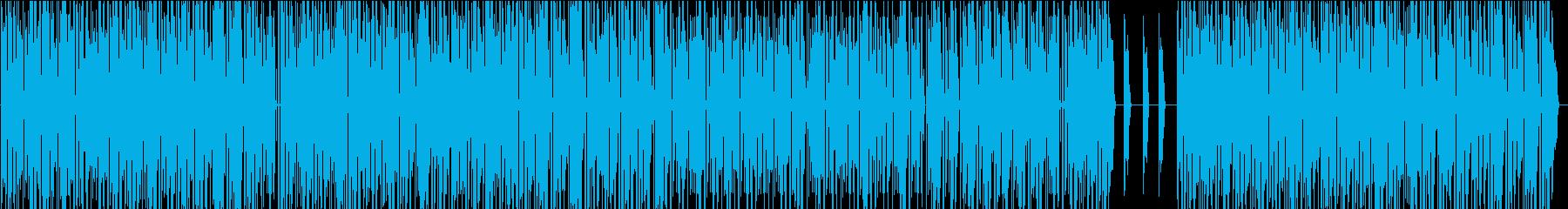 力強いシンセR&B風 の再生済みの波形