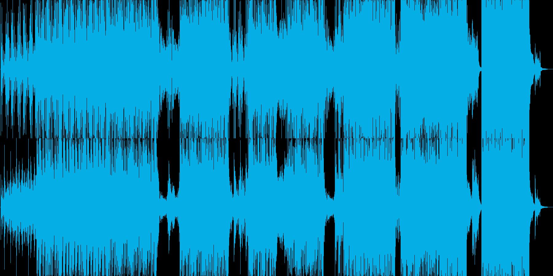 爽やかでノリのよいポストロックの再生済みの波形
