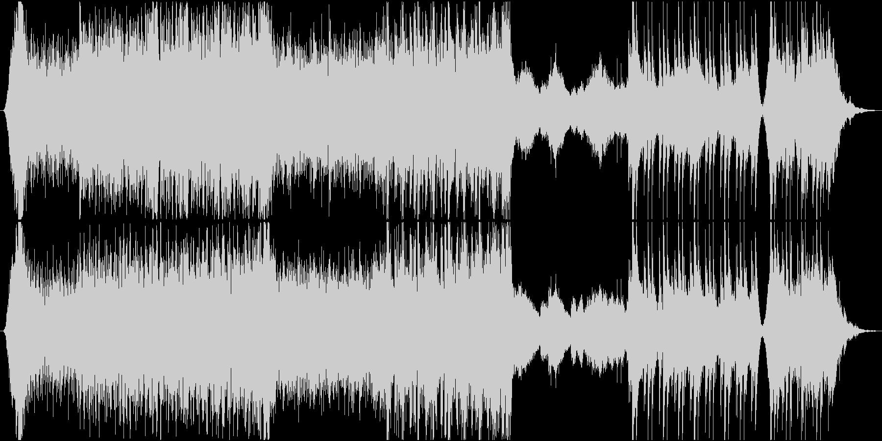 機械的なクラシックの未再生の波形