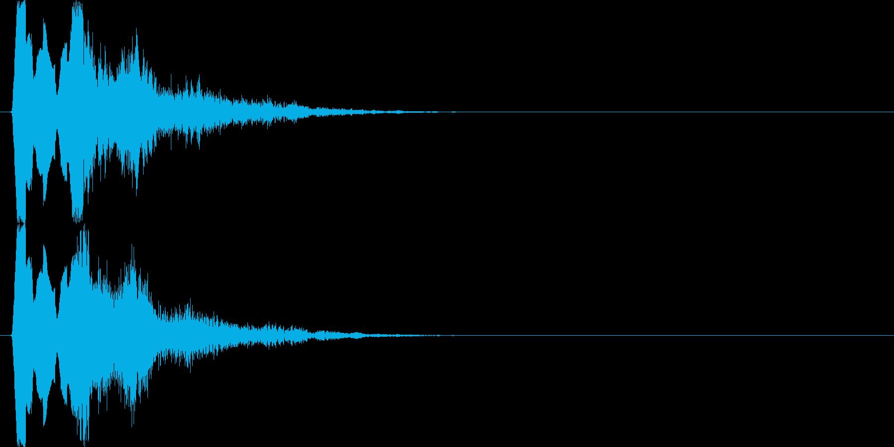 ティロロロ↓テュリン↑(場面転換、魔法)の再生済みの波形