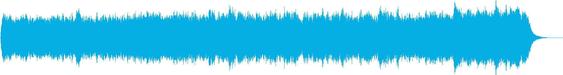 パイプオルガンの荘厳なオリジナル曲です。の再生済みの波形