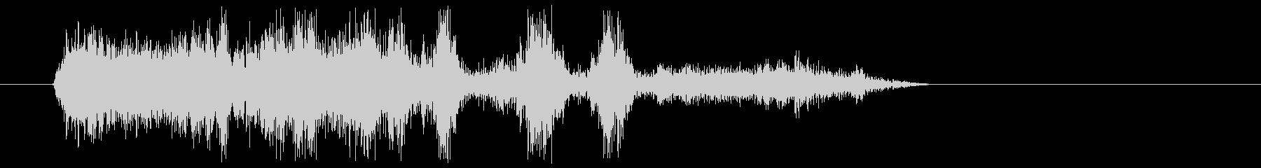 ショートリミテッドラジオスタティック2の未再生の波形