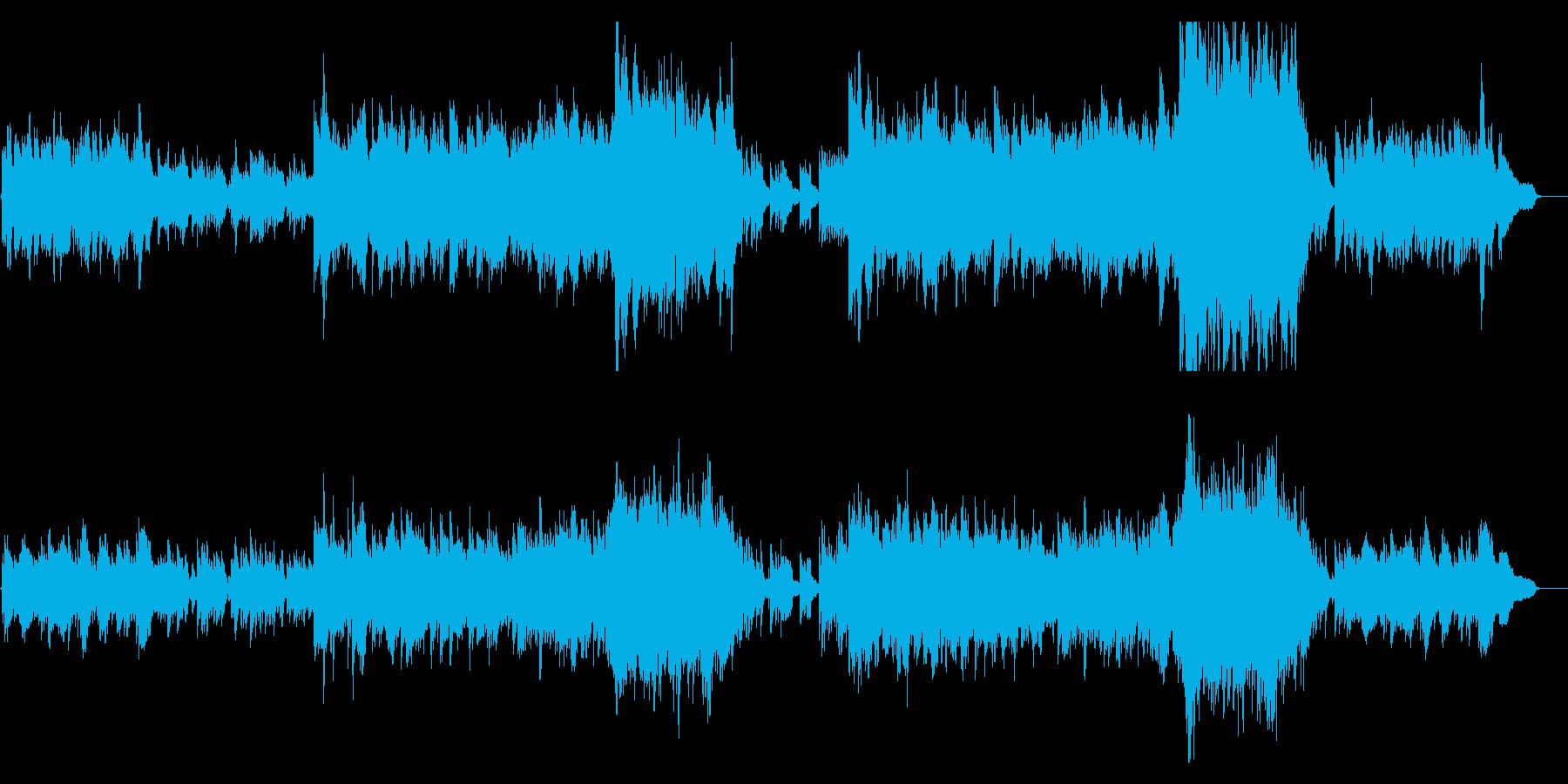 壮大/希望/感動 Bの再生済みの波形