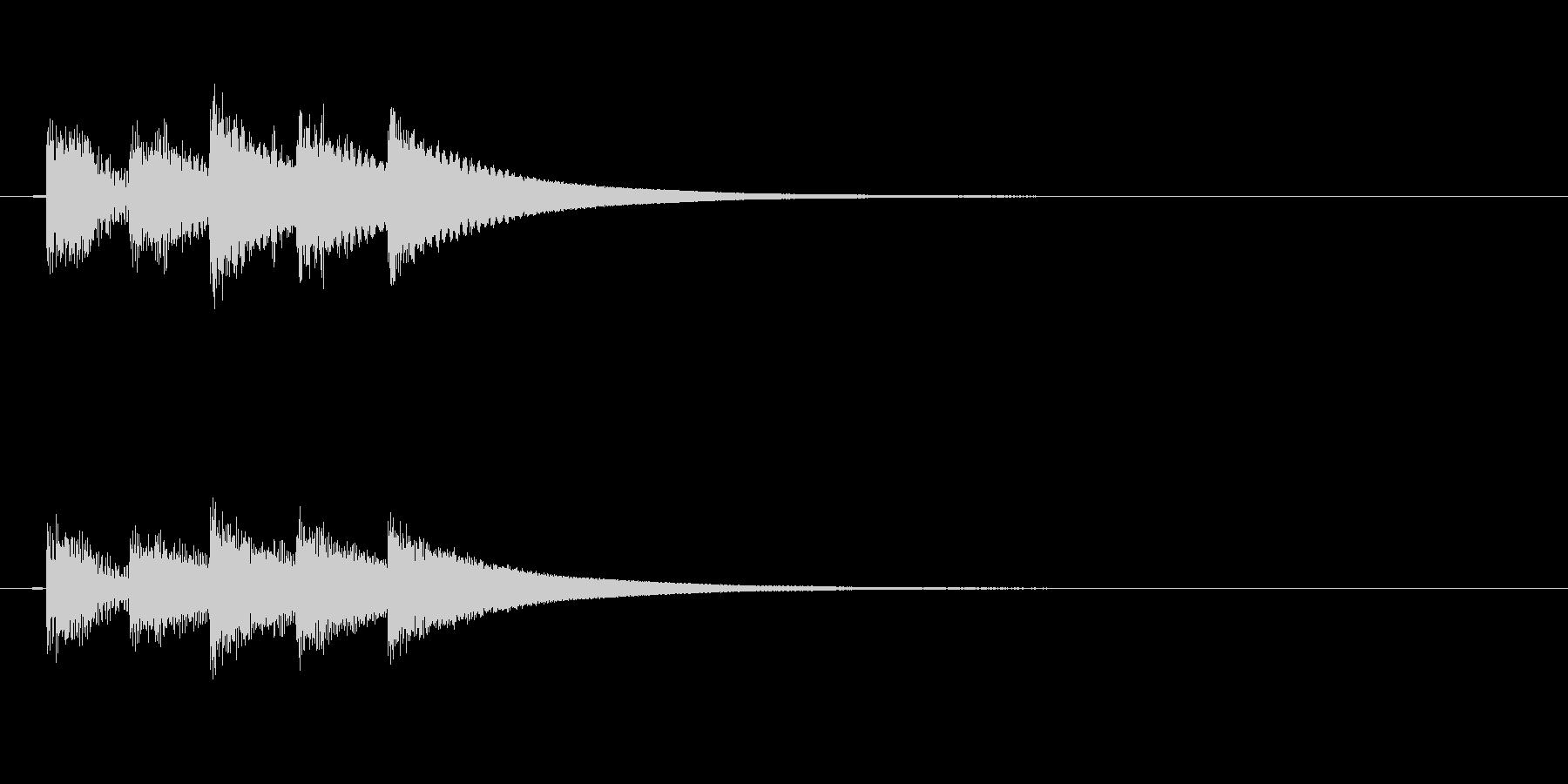 ドラム、トム、タイプB、中程度のバ...の未再生の波形