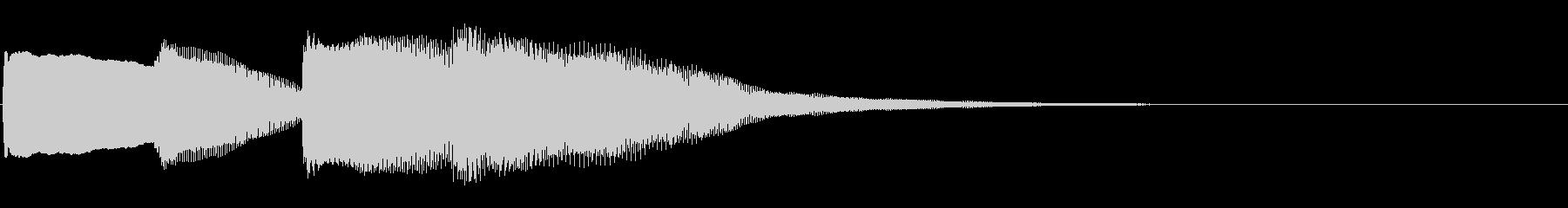 ピンポンパンポン01-2(バイノーラル)の未再生の波形
