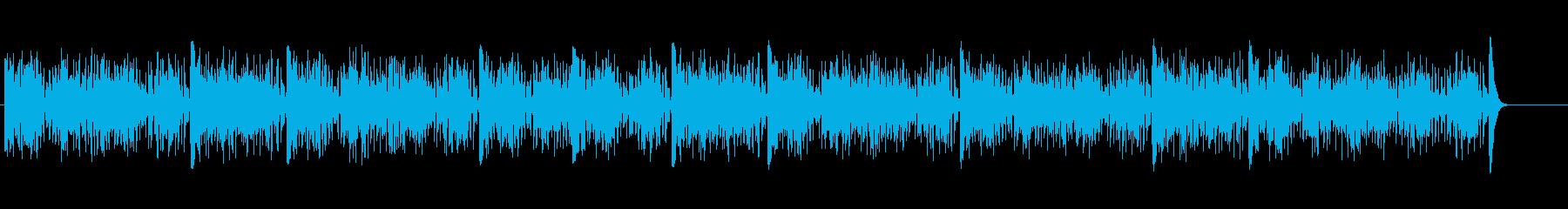 ビブラフォンで演奏される非常に弾力...の再生済みの波形