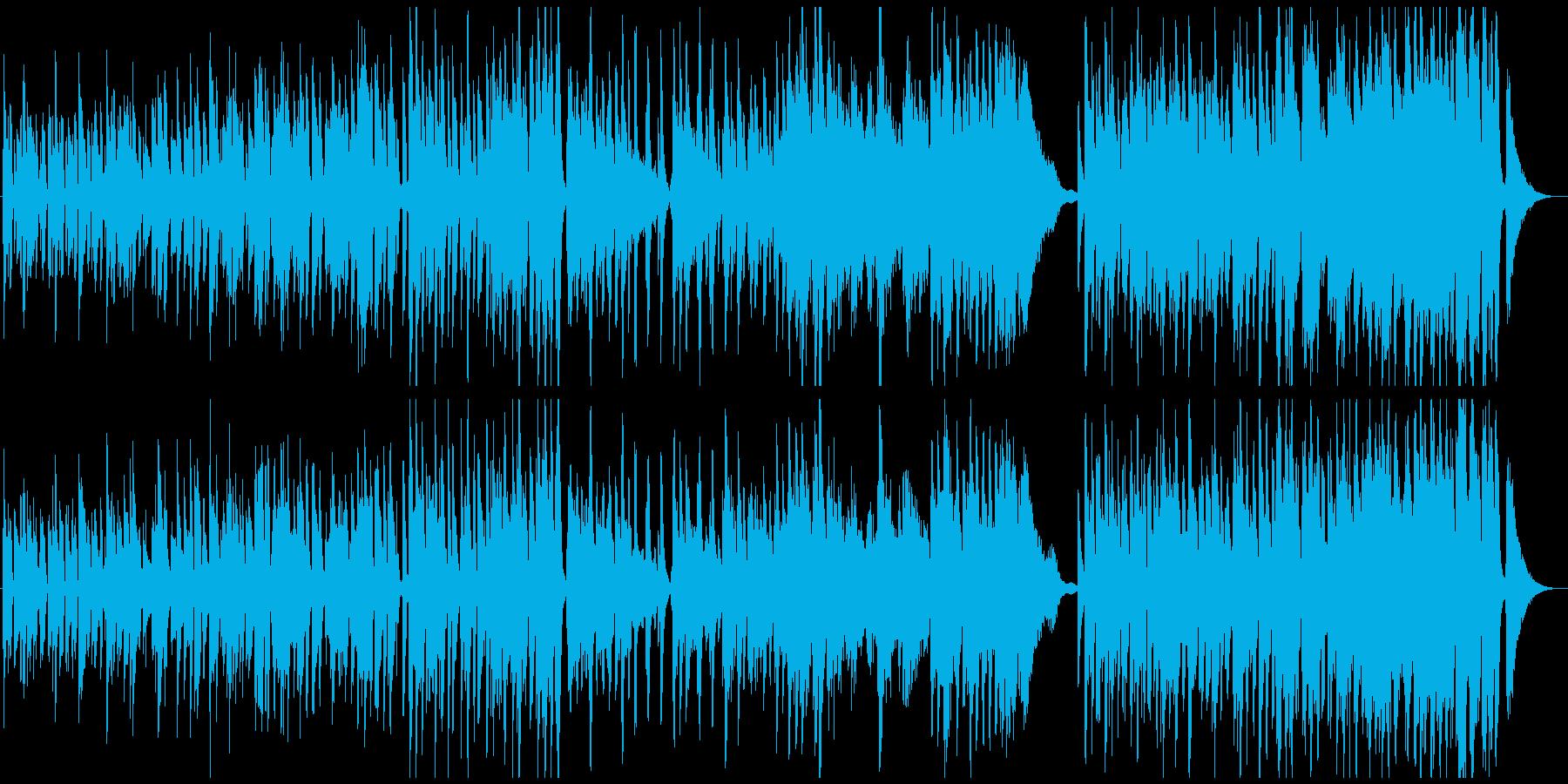 呑気なフレンチジャズ 都会的なラブコメの再生済みの波形