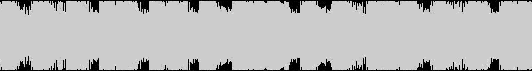 シンセでどんよりとミステリアスなBGMの未再生の波形