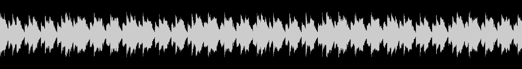 ホラーゲームなどのタイトル画面に合う曲の未再生の波形