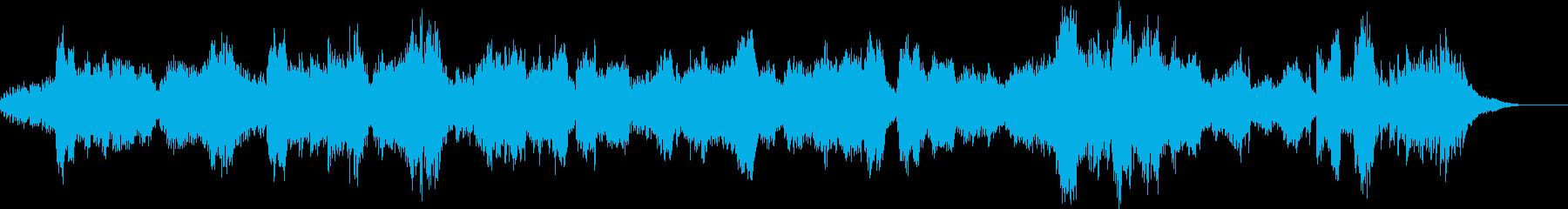 サンサーンスの白鳥_オペラ風の再生済みの波形