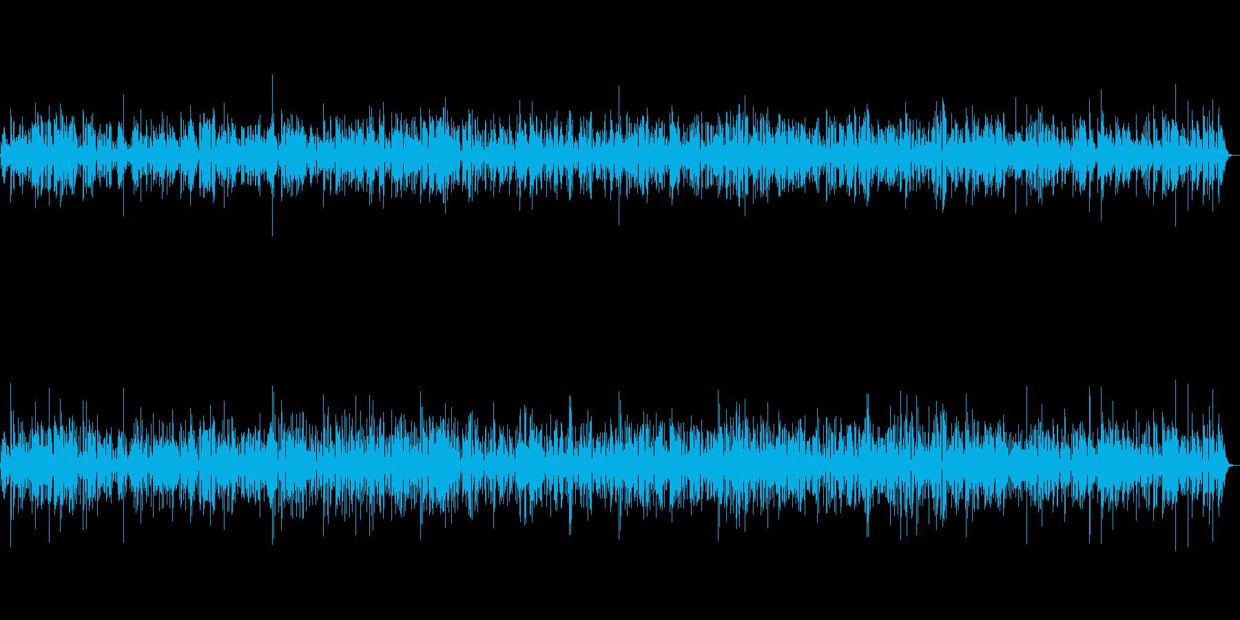 JAZZ 優しく流れるギタージャズBGMの再生済みの波形